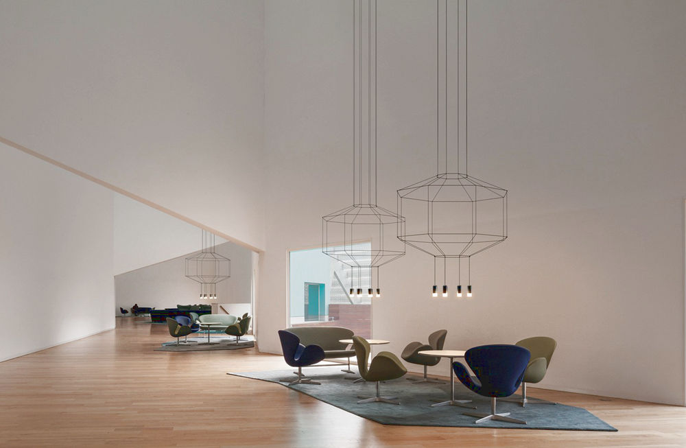 Designerska-lampa-zwieszana-3D-Vibia-Wireflow