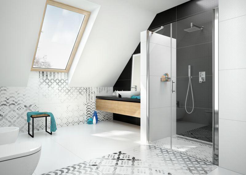Drzwi prysznicowe Deante | produkty dostępne w salonach Internity Home i Prodesigne