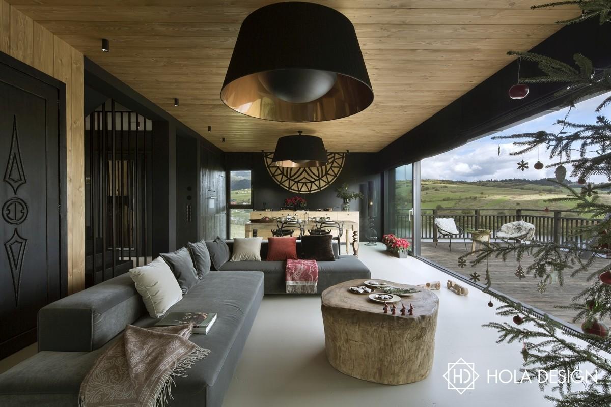 Górska chata | proj. Hola Design