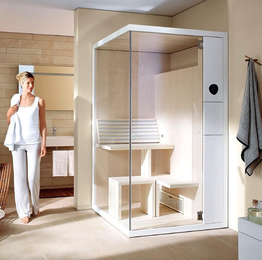 Nowoczesna-sauna-Inipi-od-Duravit-sauna-narożna-e1420713980389