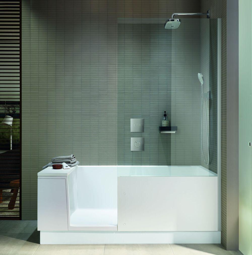 Wanna Z Prysznicem Odkryta Na Nowo Duravit Prezentuje Shower Bath Ih Internity Home