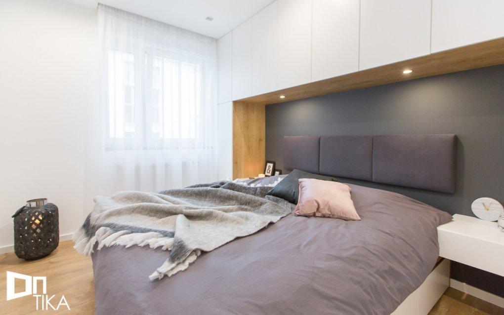 TIKA Architektura - projekt Kraków mieszkanie 55m2