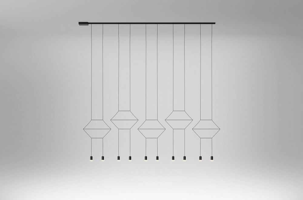 Zwieszana-punktowa-lampa-2D-Vibia-Wireflow