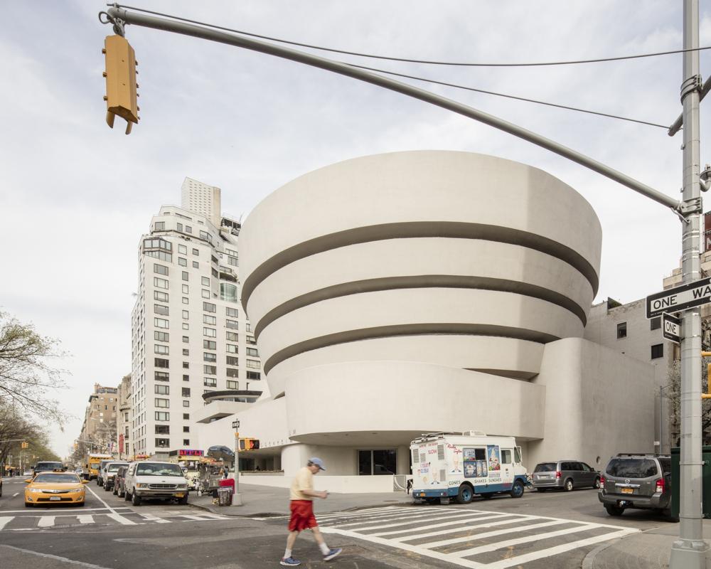 Muzeum Guggenheima w Nowym Jorku – projekt F. Lloyd Wright