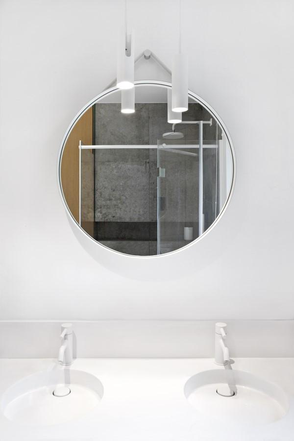 łazienka, spacelab, projekt ażurowego wnętrza