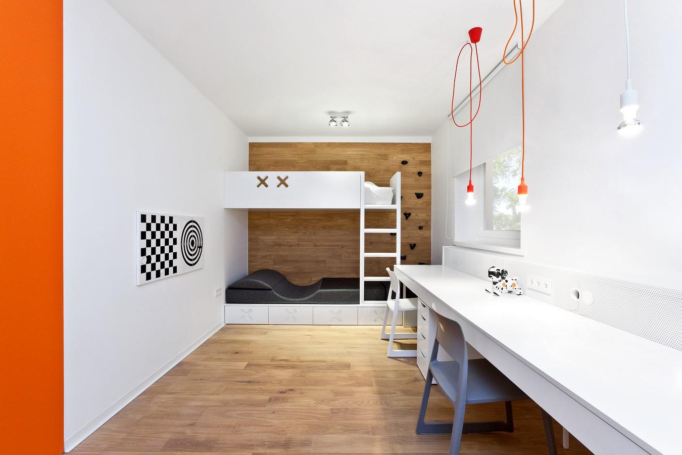 pokój dziecka, spacelab,projekt ażurowego wnętrza