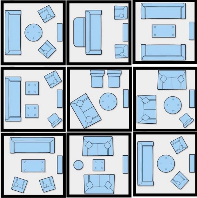 Zobacz propozycje jak ustawić meble w małym salonie