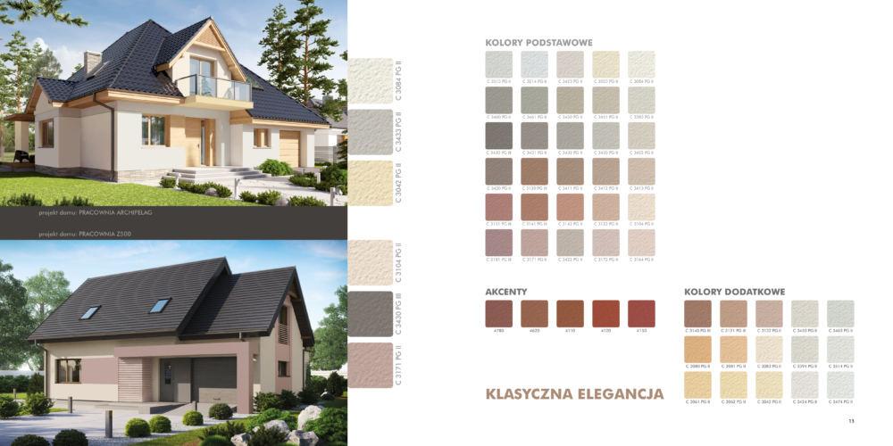 """Paleta kolorów ,, Klasyczna elegancja"""" / źródło: knauf.pl"""