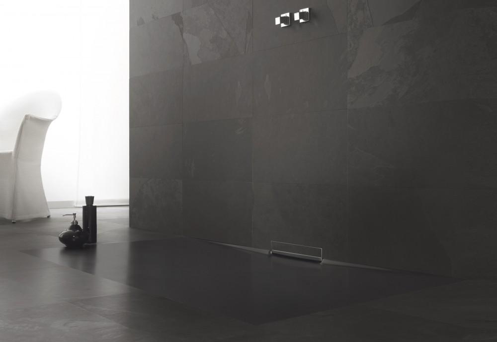 p aski brodzik w nowoczesnej azience. Black Bedroom Furniture Sets. Home Design Ideas