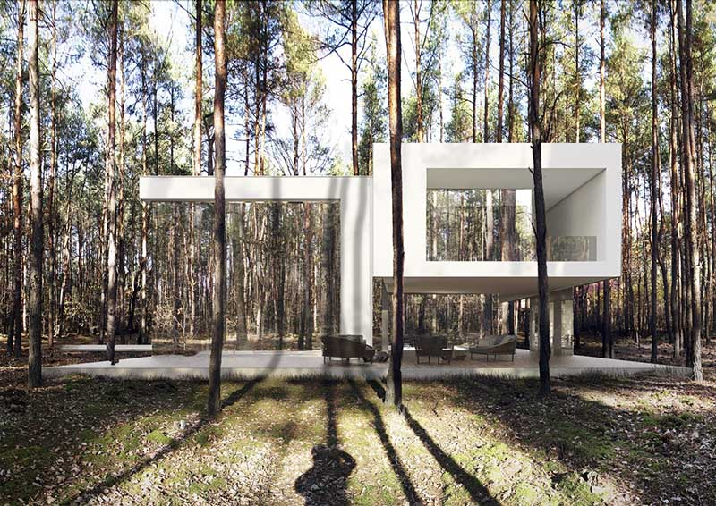 Lustrzany dom | proj. Reform Architekt