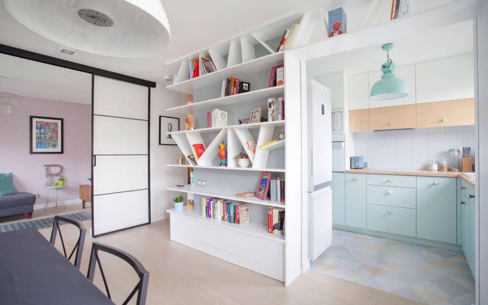 Małe mieszkanie w stylu skandynawskim | Boho Studio