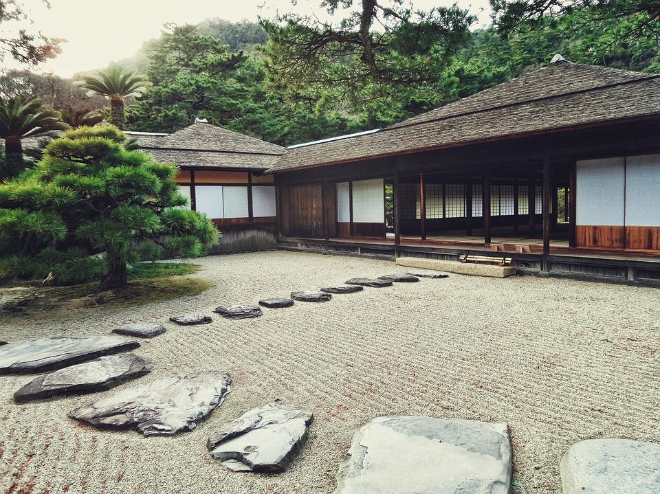 Ogród w stylu japońskim / pixabay.com