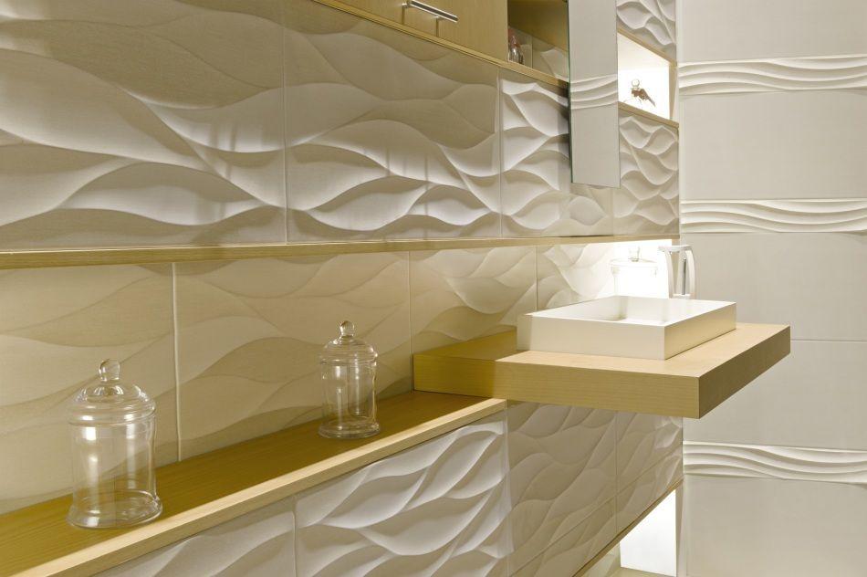 Płytki 3D z kolekcji Coam marki Aparici dostępne w salonach Internity Home i Prodesigne