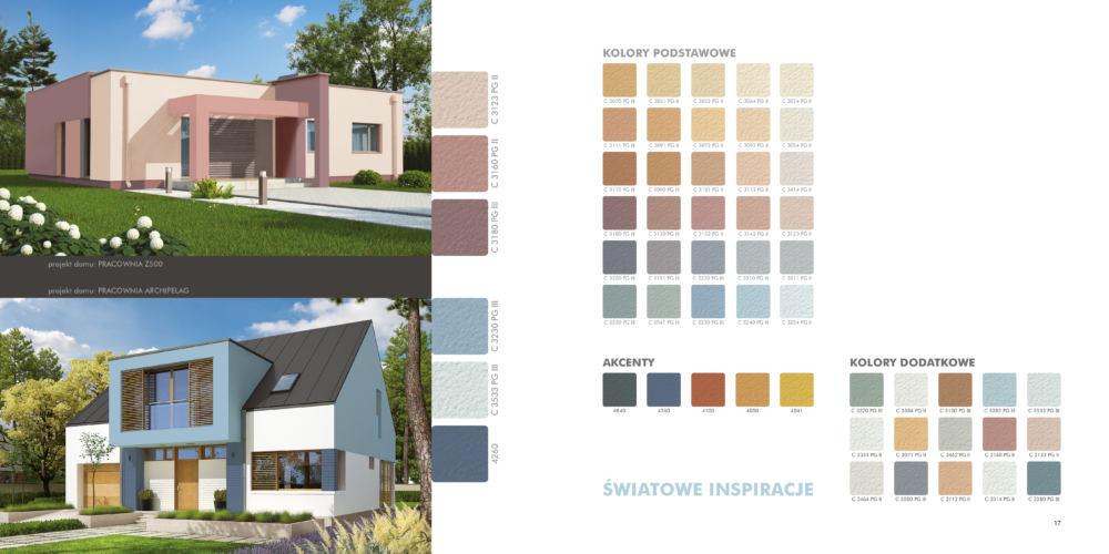 """Paleta kolorów ,,Światowe inspiracje"""" / źródło: knauf.pl"""