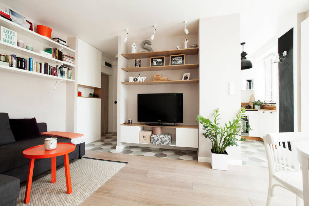 Aranżacja małego mieszkania | Boho Studio