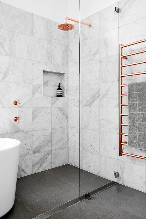 Baterie łazienkowe w kolorze różowego złota | Dornbraht
