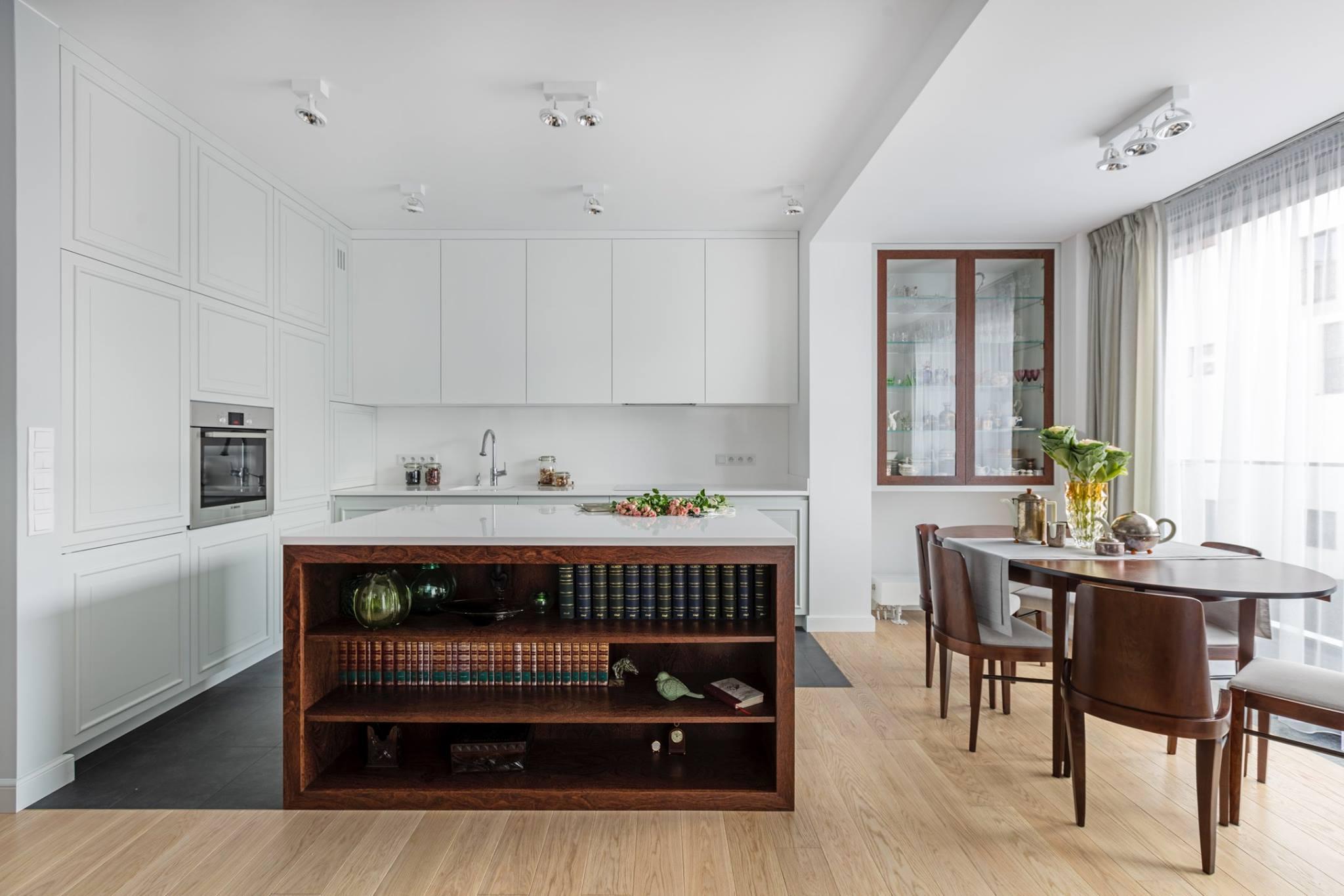 Apartament na artystycznym Żoliborzu | projekt OIKOI