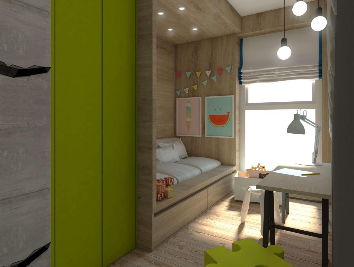 Mieszkanie na Kukuczki Partner Design